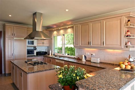 Kitchens With Dark Wood Cabinets by 25 U Shaped Kitchen Designs Pictures Designing Idea