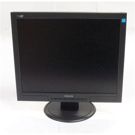 monitor lcd philips 170s 17 quot rezolutie 1280 x 1024