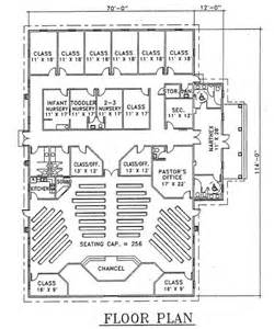 church floor plans church plan 103 lth steel structures