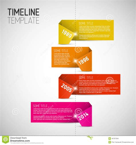 timeline report template infographic timeline report template made from colorful