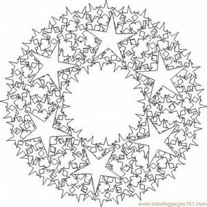 Printable Coloring Page Kaleidoscope 5 Lrg Other &gt sketch template