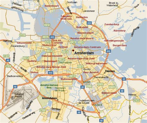map of amsterdam discover beautiful cities of the world of amsterdam netherlands