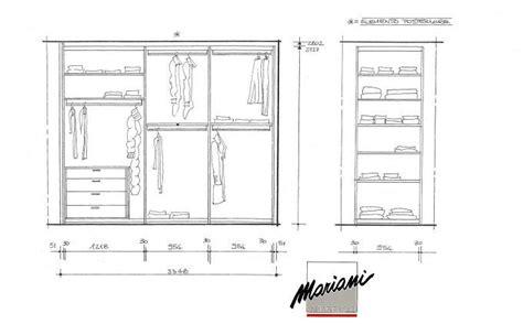 profondità cabina armadio realizzazione armadio con doppia profondita mobili mariani