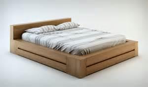 pack literie haut de gamme lit et commode en bois massif