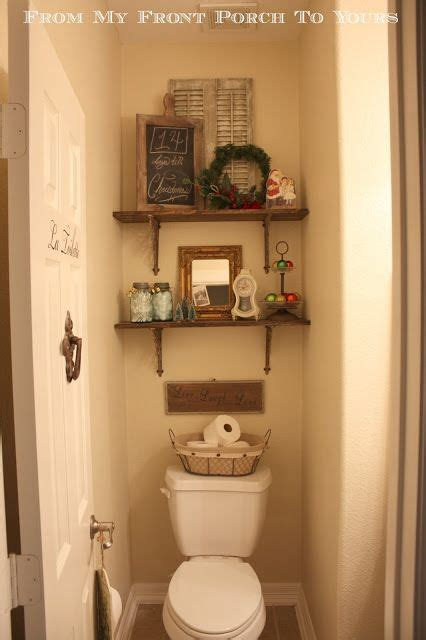 half bathroom decoration ideas half bathroom reveal