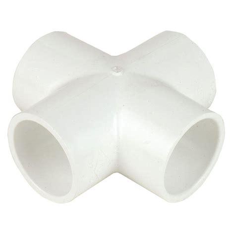 formufit 1 in furniture grade pvc 5 way cross in white 4