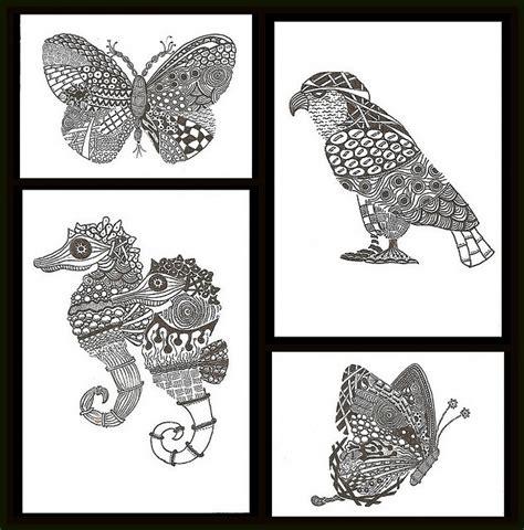 1000 images about zentangle animals dibujos mejores 270 im 225 genes de zentangle animals en pinterest