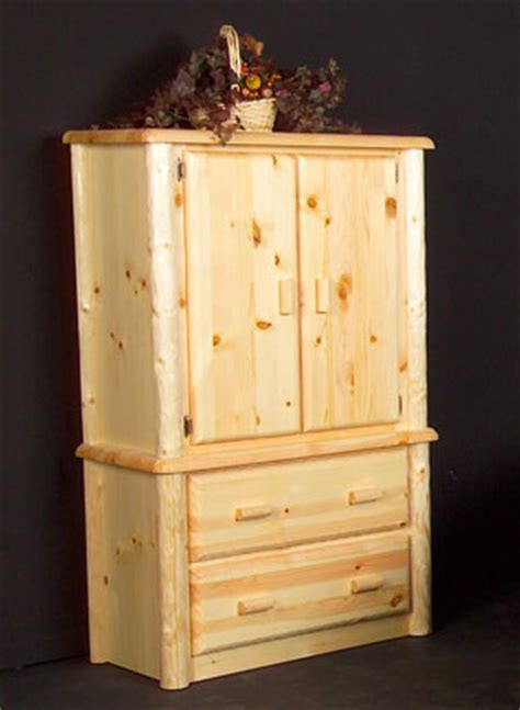 Log Armoire by Log Armoire