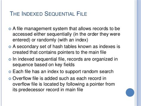 Sequential Search Worst File Organization