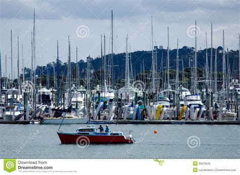 boat graphics auckland westhaven marina auckland new zealand editorial image