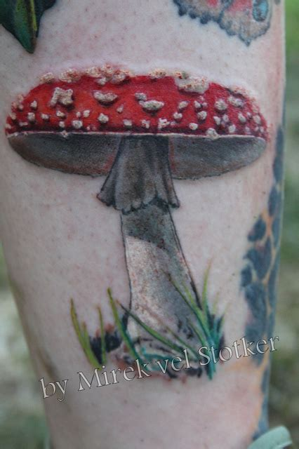 mushroom tattoo designs images designs