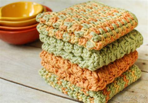 Hostess Gifts crochet dishcloths 4 quick and easy crochet dishcloth