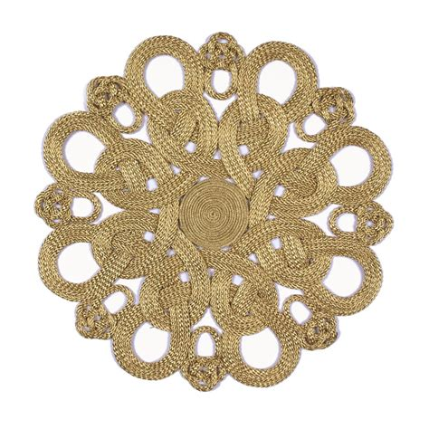 Versace Home Interior Design Gold Frog Placemat