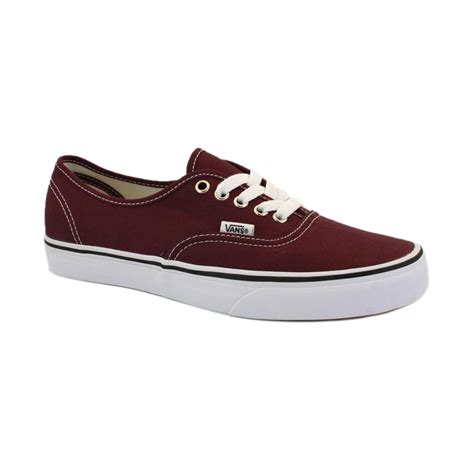 shoes vans vans authentic scq7yx mens canvas shoes laced trainers