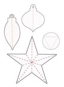 paper ornament template best photos of 3d ornament templates 3d