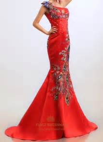 red evening dress mermaid holiday dresses