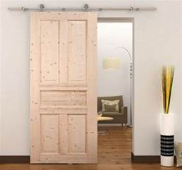 Wooden Sliding Closet Doors Homcom 6ft Steel Interior Sliding Wood Barn Door Track Kit Closet Hardware Set Ebay