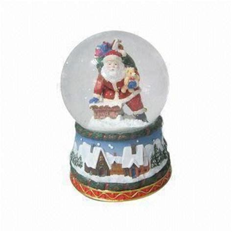 santa clause snow globe ideal for christmas global sources