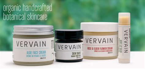 Handcrafted Skincare - vervain organic handcrafted botanical skincare