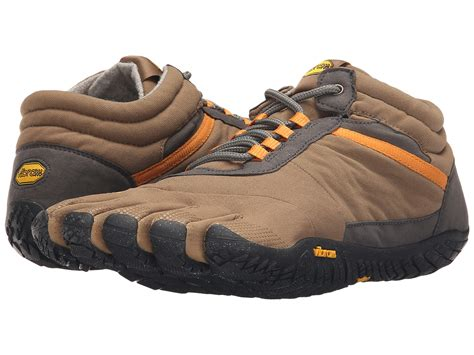 Vibram Fivefingers Trek Ascent Insulated Tangreyblack 100 Ori vibram fivefingers trek ascent at zappos
