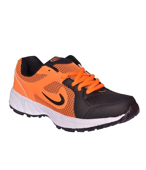hitcolus orange sports shoes for price in india buy