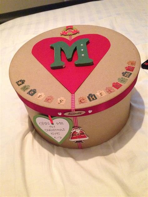 decorated christmas boxes ideas 24 christmas eve boxes to make hobbycraft blog
