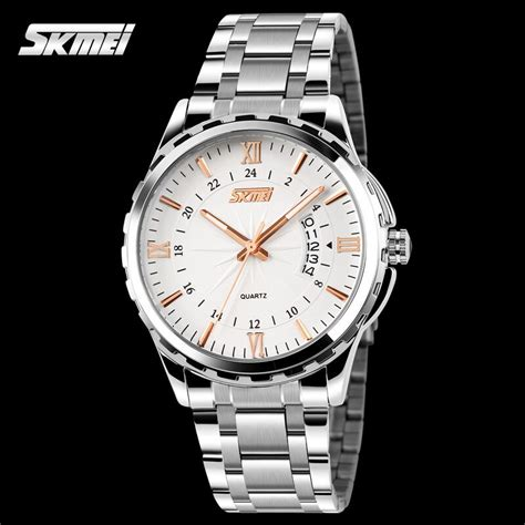 Jam Tangan Waterproof 5atm Digitec Sporty Analog Skmei Led Original skmei jam tangan analog pria 9069cs gold jakartanotebook