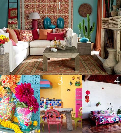 frida kahlo inspired bohemian interior decor summer