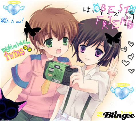 anime boy and girl best friends me and my best friend picture 80926337 blingee com
