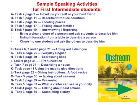 conversation themes for english students teaching speaking