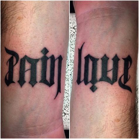 45 ambigram tattoos designs amp meanings for men amp women