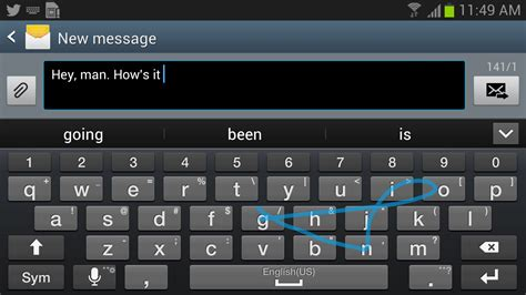 samsung android keyboard the samsung galaxy note 2 already has swiftkey flow