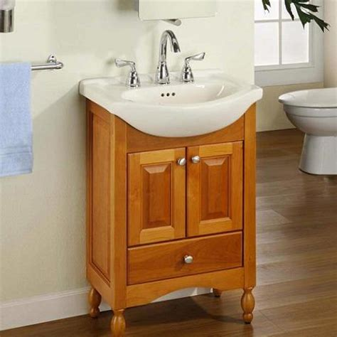 narrow sinks for small spaces narrow bathroom vanities a simple solution for a small