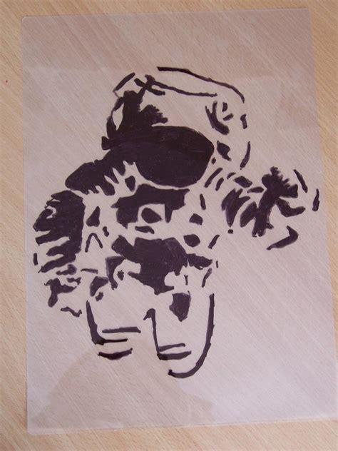 astronaut art stencil pics about astronaut stencil wip by vincoo on deviantart