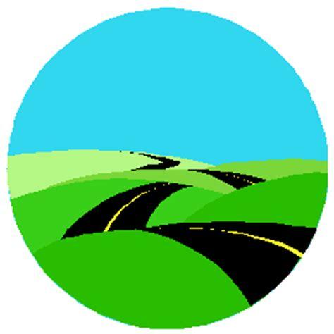 graphic design hill road roadmap clipart clipart best