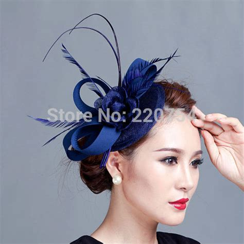 Royal Blue Hair Accessories For Weddings by Fascinators Reviews Shopping