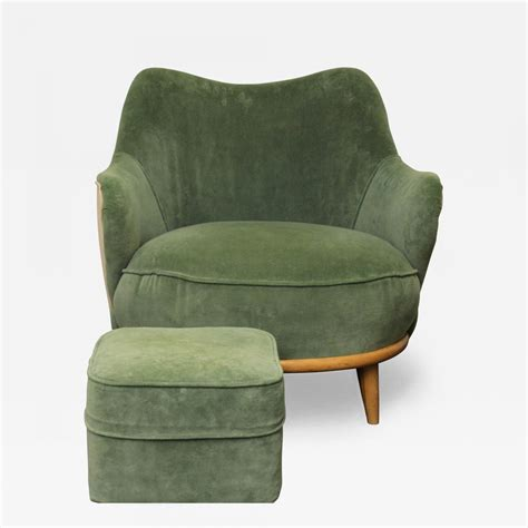 tub chair with ottoman heywood wakefield tub chair with ottoman