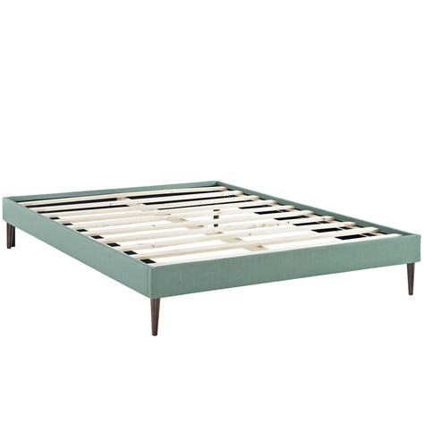 bed frame platform queen sherry upholstered fabric queen platform bed frame laguna
