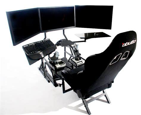 Cockpit Computer Desk R3volution Gaming Cockpit Pc Gaming Desk Obutto