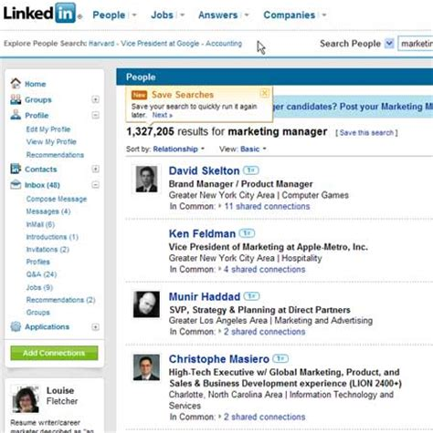 How To Search For On Linkedin Linkedin Mistakes Here Are 7 You Re Probably Blue Sky Resumes