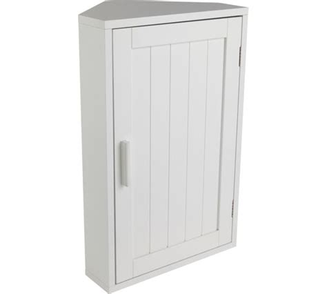 Bathroom Wall Cabinets Argos Buy Home Wooden Corner Bathroom Cabinet White At Argos
