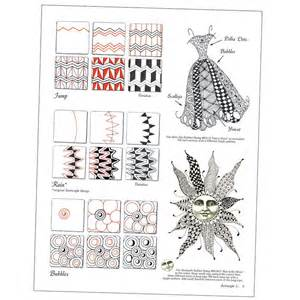 how to start a doodle book zentangle basics book images