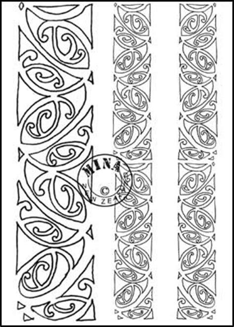 printable tattoo paper nz maori printables kowhaiwhai colouring page 3