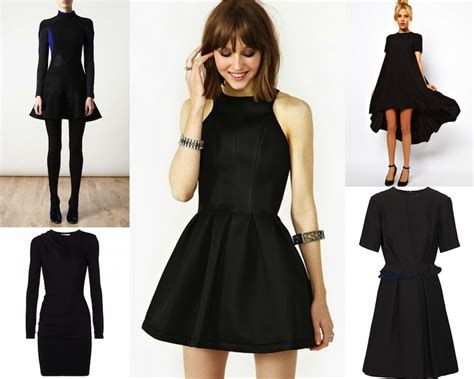 black dress options courtesy of style on the