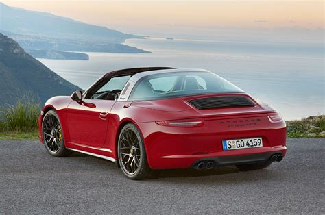 Porsche 911 Targa 4 Gts Revealed