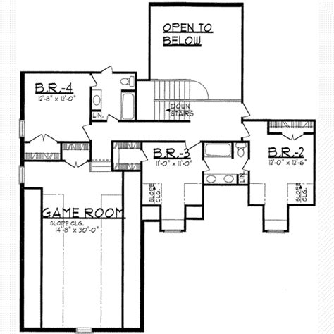 traditional 4 beds 3 baths 1856 sq ft plan 44 162 main traditional style house plan 4 beds 3 50 baths 4026 sq