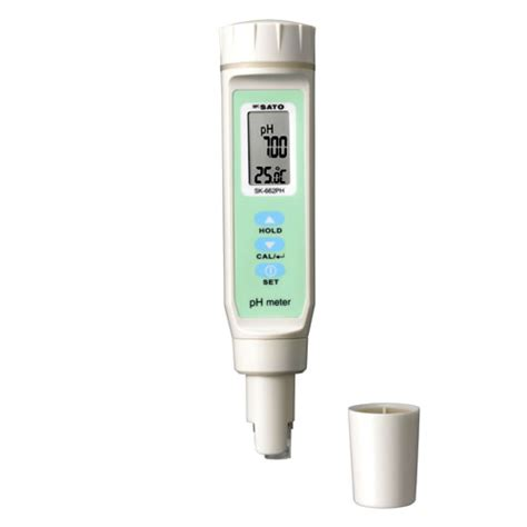Ph Meter Digital Sk 650ph sksato pen type digital ph meter model sk 662ph display