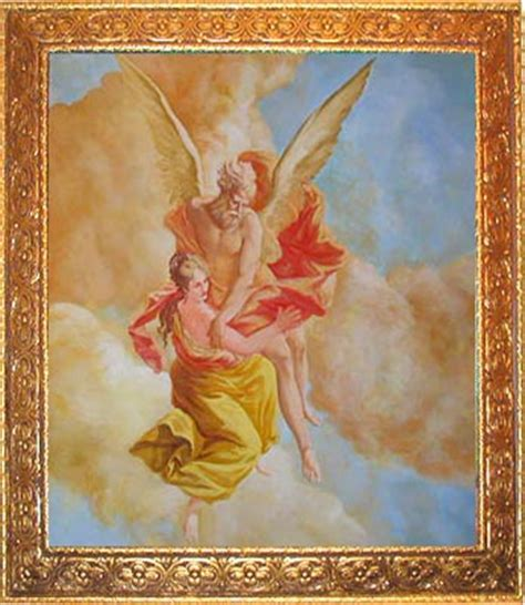 Large Wall Murals boreas abduction orithyia