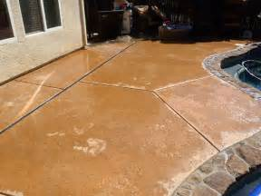 Concrete Stain Colors For Patios by How To Apply Multi Color Concrete Stain