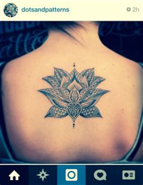 tattoo lovers instagram persian or turkish paisley flower henna lotus vector by